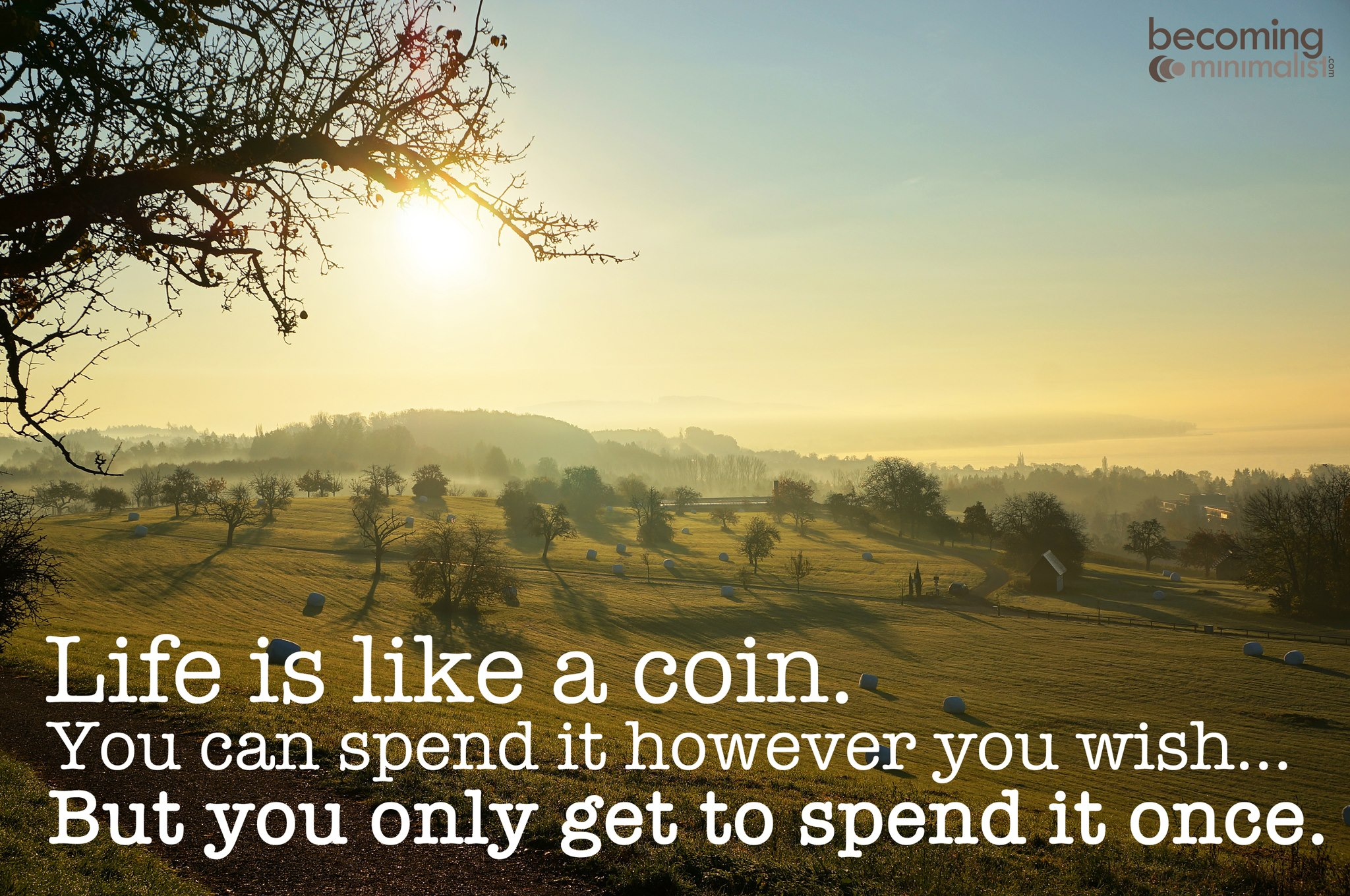 112512 Life Is Like A Coin A Day In My Quote Book