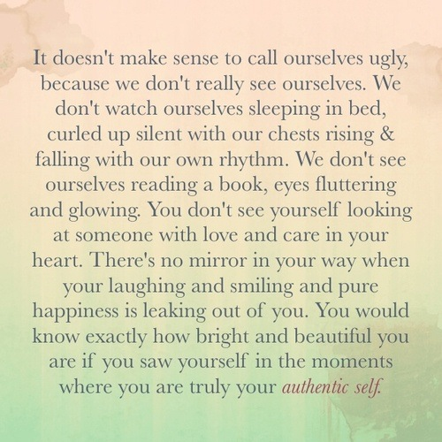 5/30/13 – It Doesn't Make Sense To Call Ourselves Ugly